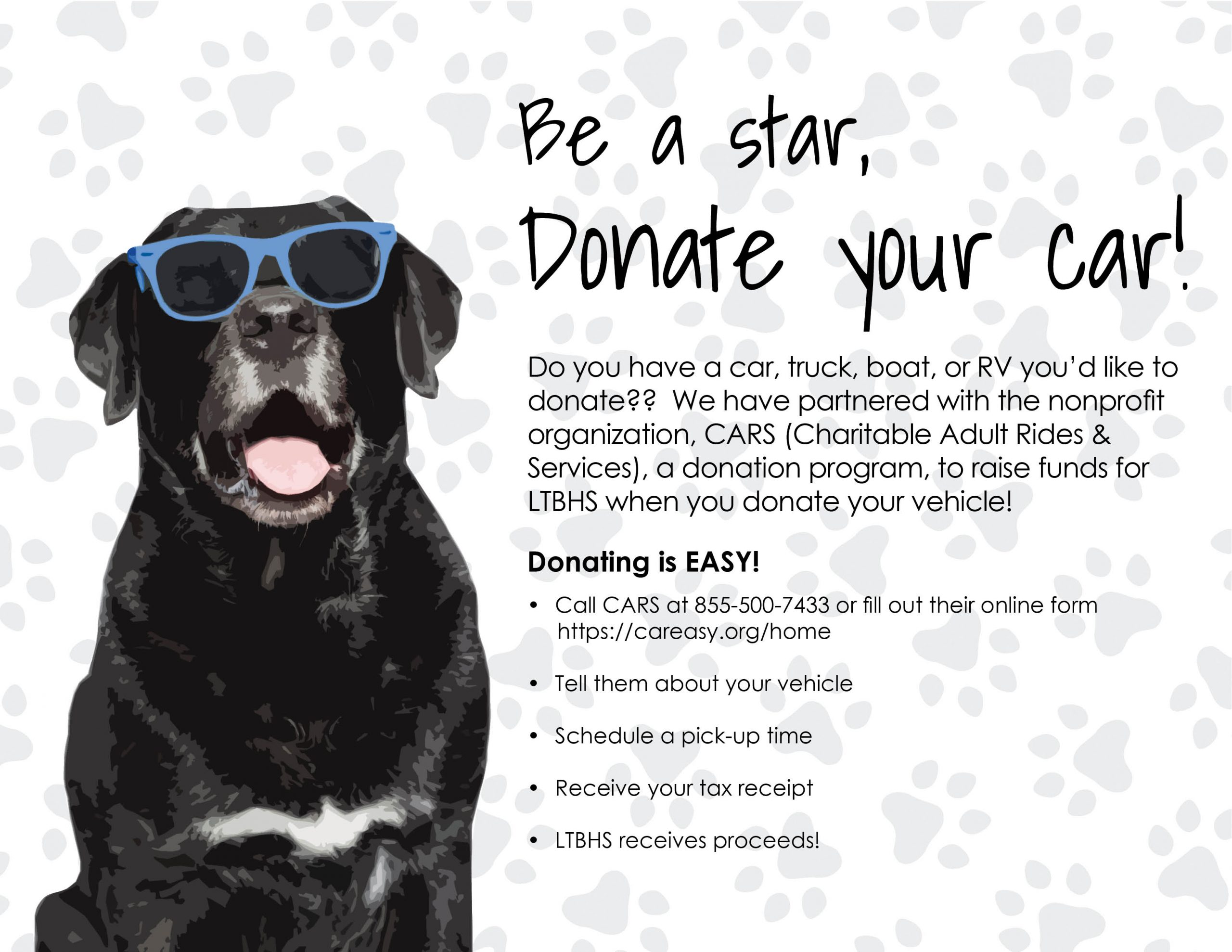 Be a star donate your car