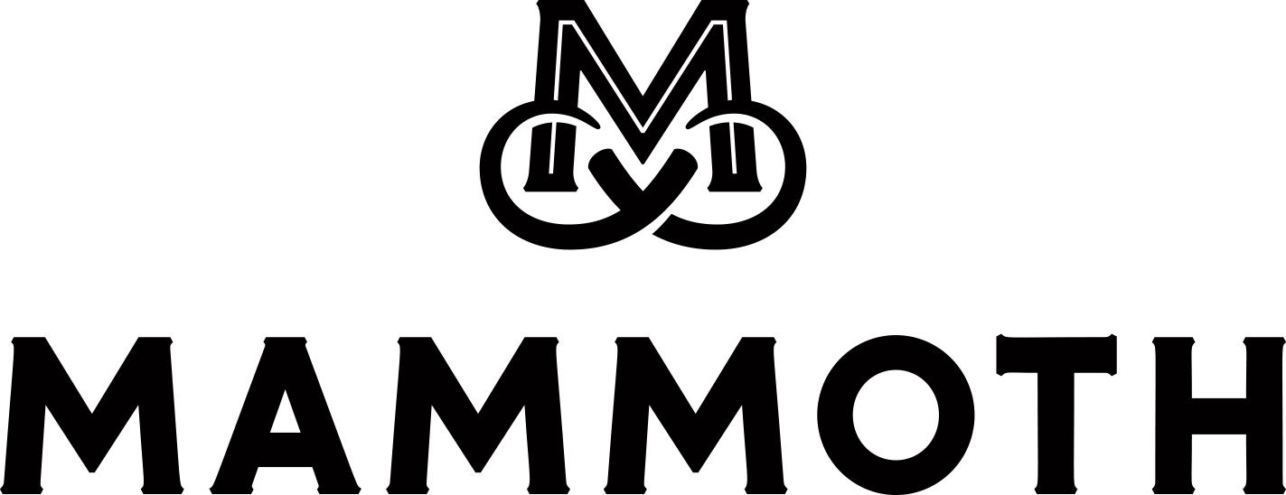 Mammoth logo black web